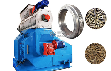 General Work of Pellet Mill Machine