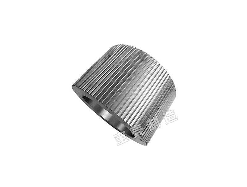 Pellet press roller shell CPM A201 Mtl