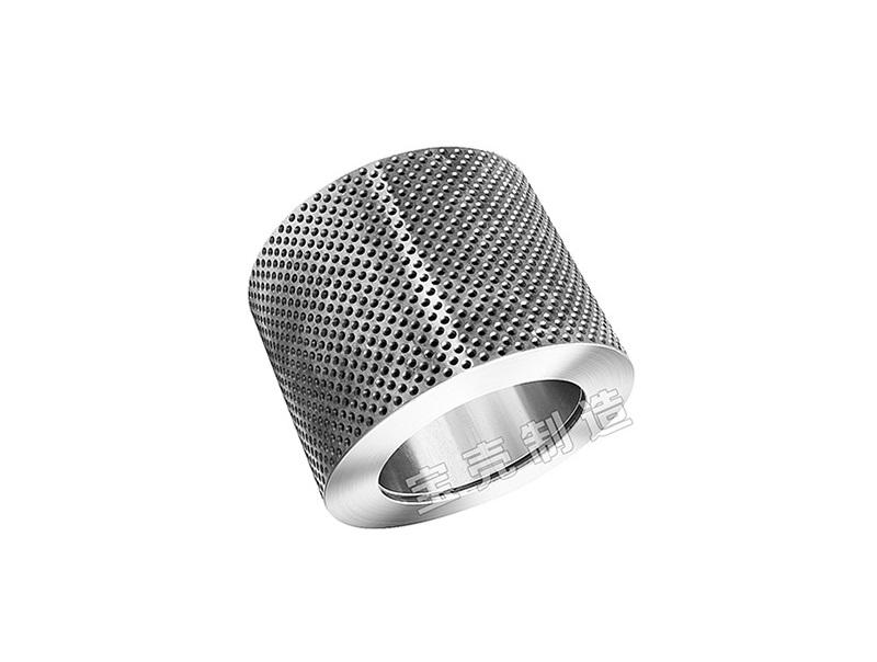 Practical Biological granulator accessories ISO9001 roller Shells pellet mill parts