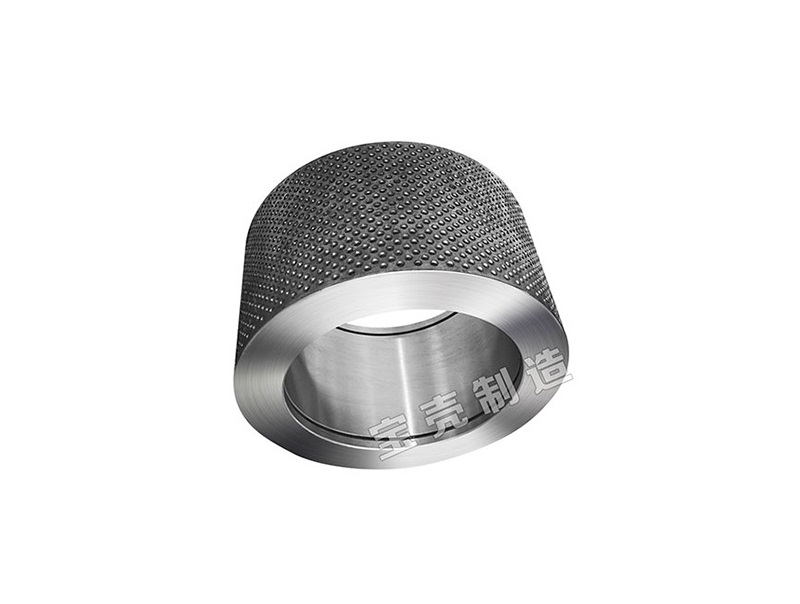 Helical tooth carbon steel roller shells for feed machines
