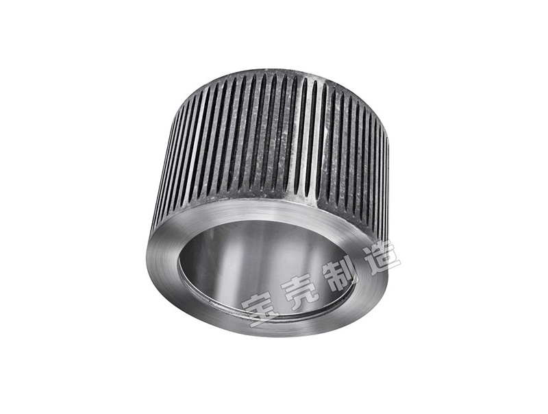 Animal feed stainless steel roller shell for coconut shell grinder