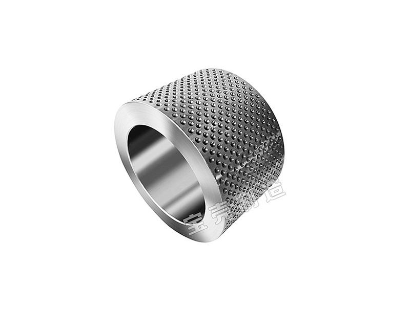 Stainless steel forging roller shell for rice straw pellet machine