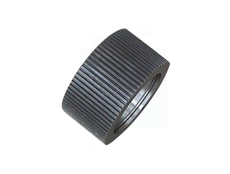 Unique design dimpling roller shells for peanut shell grinder