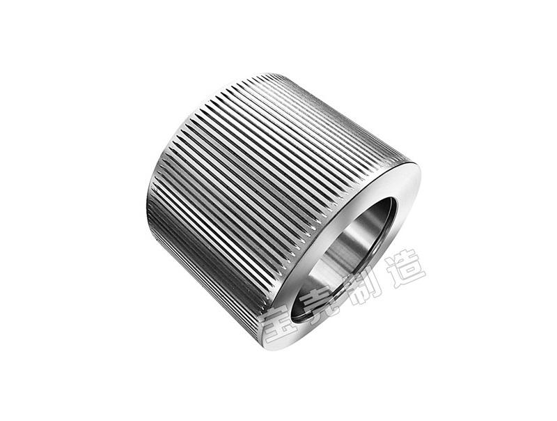 Carbon steel/alloy steel forging roller shell for pellet machine
