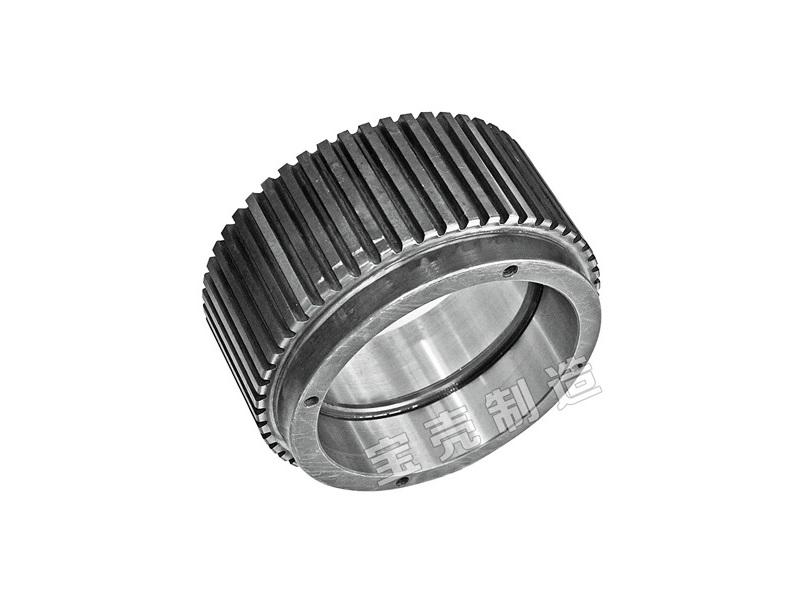 Metal casting parts roller shell  for make wood pellet machine