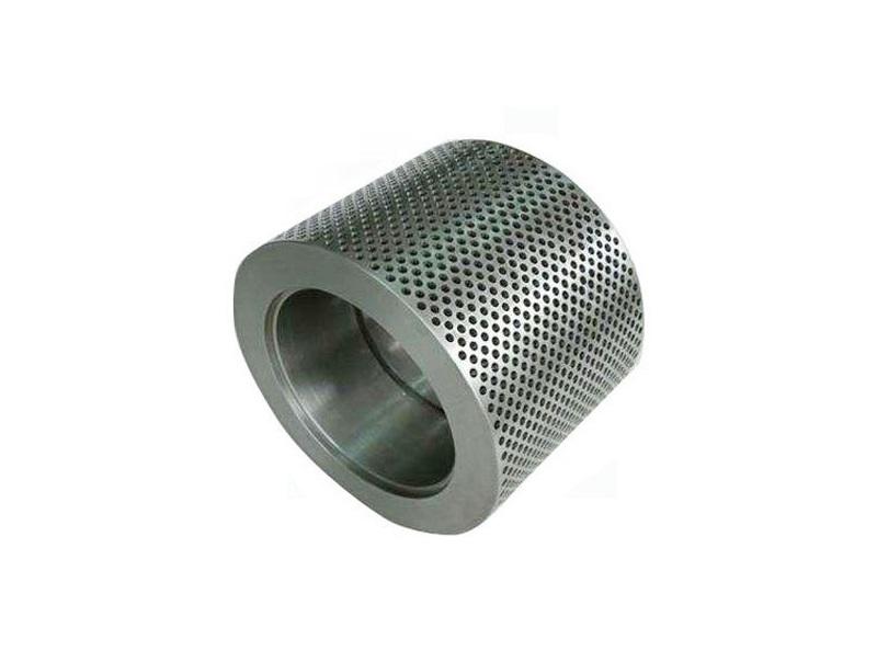 Custom peanut shell dimpled roller shell for crusher 297*205*147