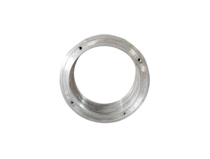 Durable spare parts ring die for flat die feed pellet mill
