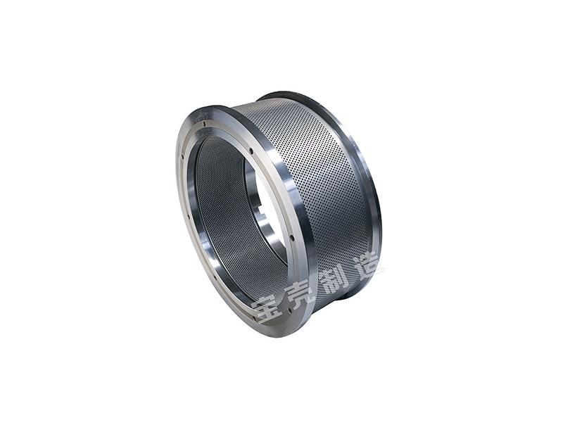 Ring die to manufacturer matrix for the granulator