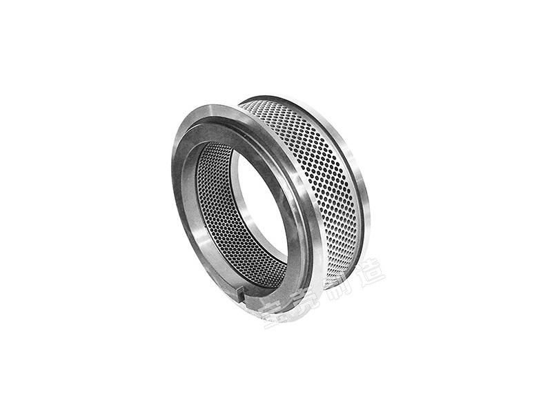 Alloy steel ring die for wood pellet mill and feed pellet machine