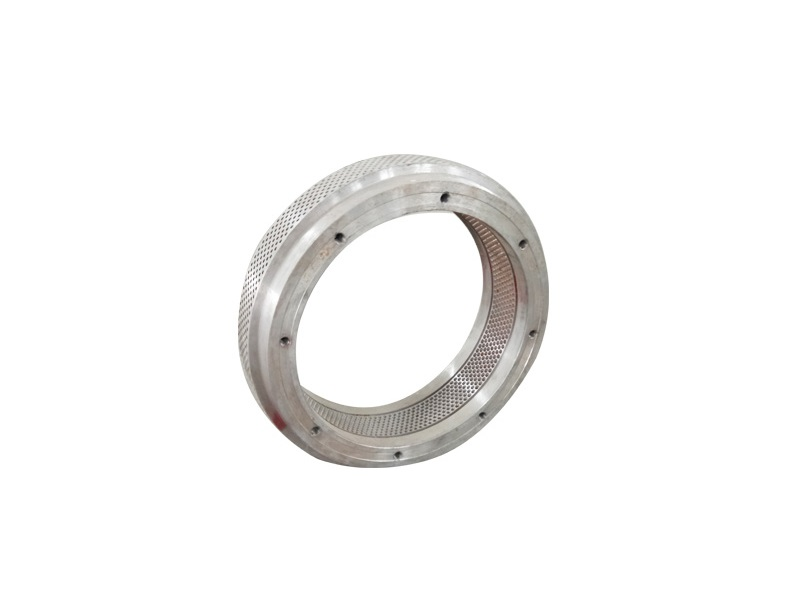 Alloy steel pellet mill ring die for making wood pellet