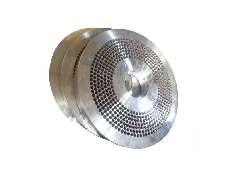 Customized 58-62 HRc Flat die wear parts of wood pellets